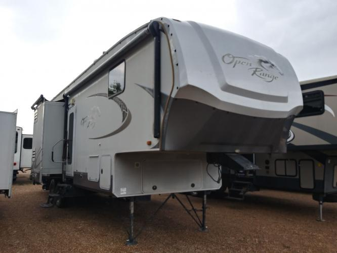 2011 TAN OPEN RANGE 341RGR (5XMFH3529B5) , located at 3723 N Main St, Cleburne, TX, 76033, (817) 678-5133, 32.368980, -97.396111 - Photo #0
